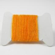 Micro chenille abricot