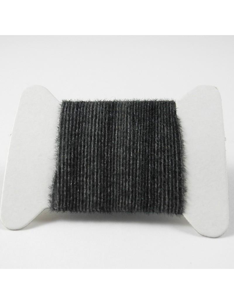 Micro chenille gris