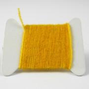 Micro chenille jaune orangé