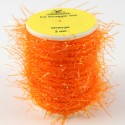 Chenille straggle UV orange