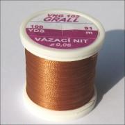 Fil de montage Grall brun roux-102