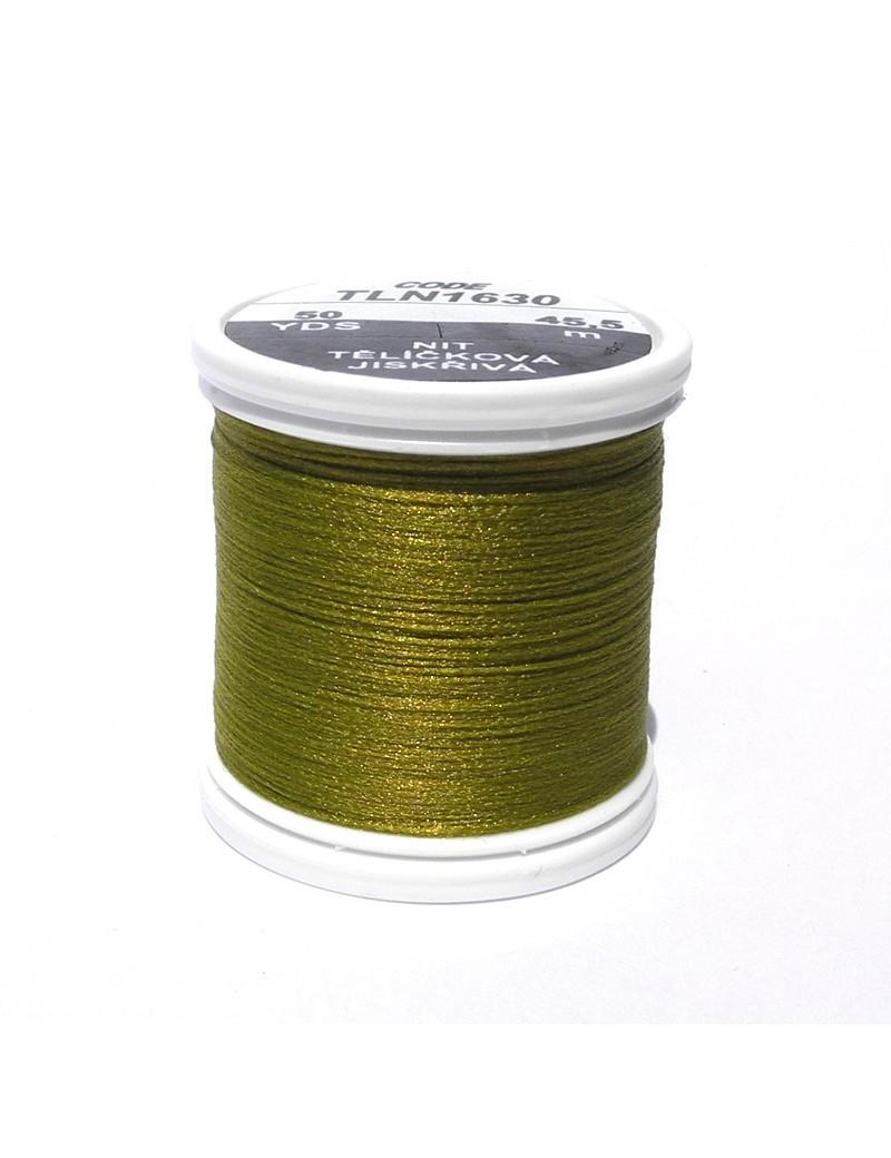 Soie Floss olive vert-1630