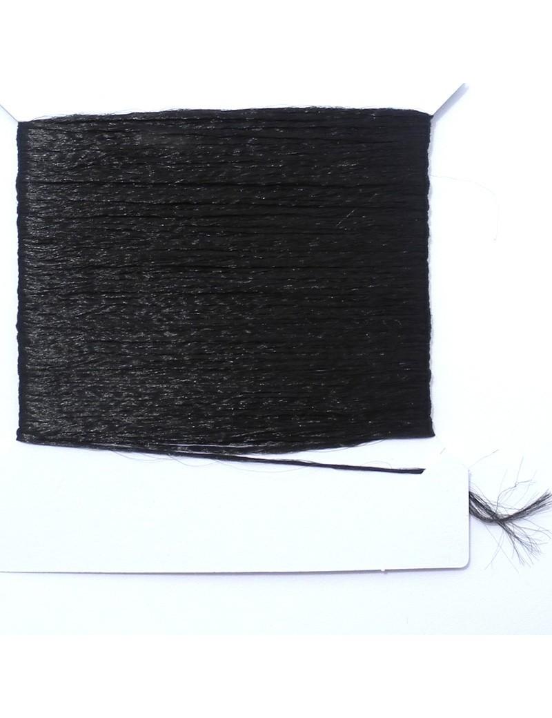 Polypropylène en mèche noir