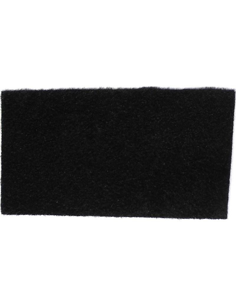 Furry foam noir-30