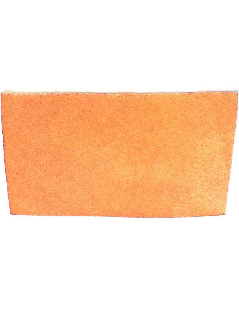 Furry foam gris orange-07