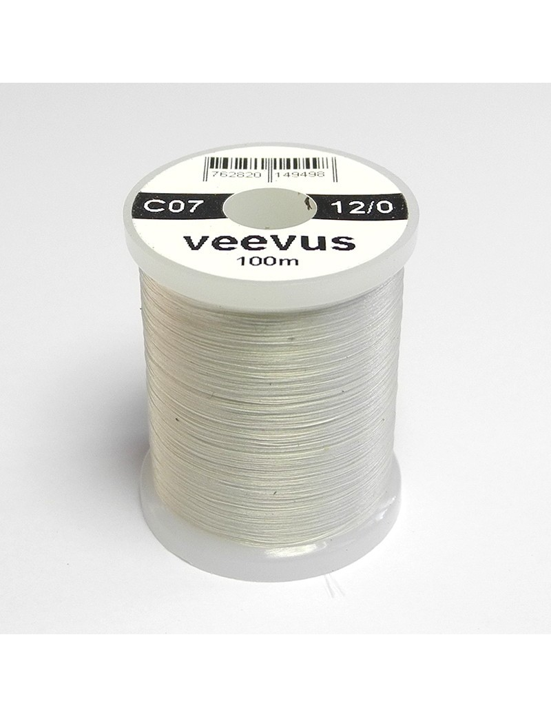 Fil de montage Veevus 12/0 gris clair-07