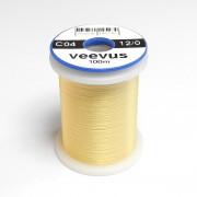 Fil de montage Veevus 12/0 jaune-pâle-04
