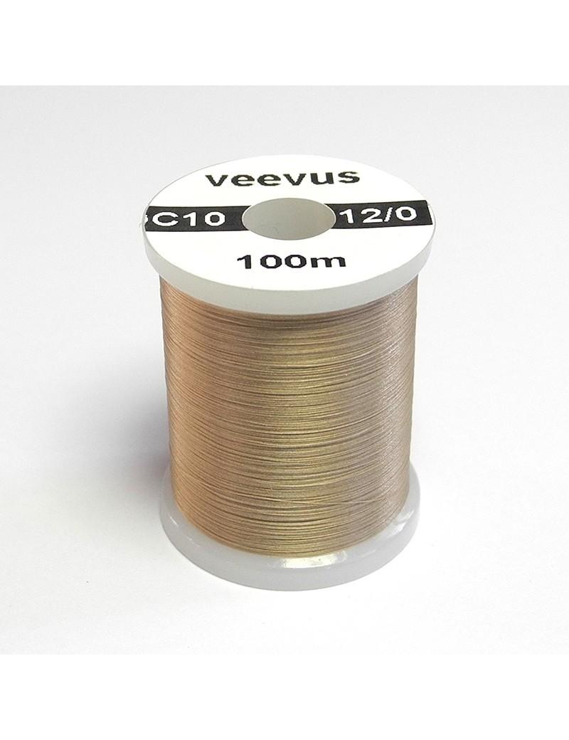 Fil de montage Veevus 12/0 marron clair tan-10