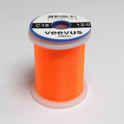 Fil de montage Veevus 12/0 orange fluo-16