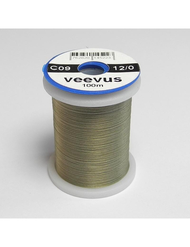 Fil de montage Veevus 12/0 gris dun-09
