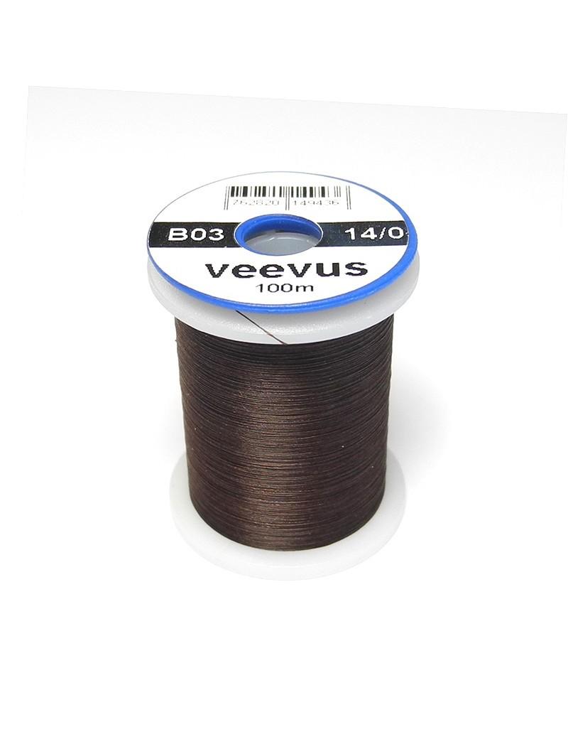 Fil de montage Veevus 14/0 marron foncé-03