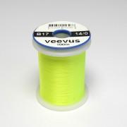 Fil de montage Veevus 14/0 jaune fluo-17