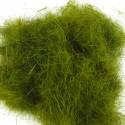 Poils de lièvre longs olive
