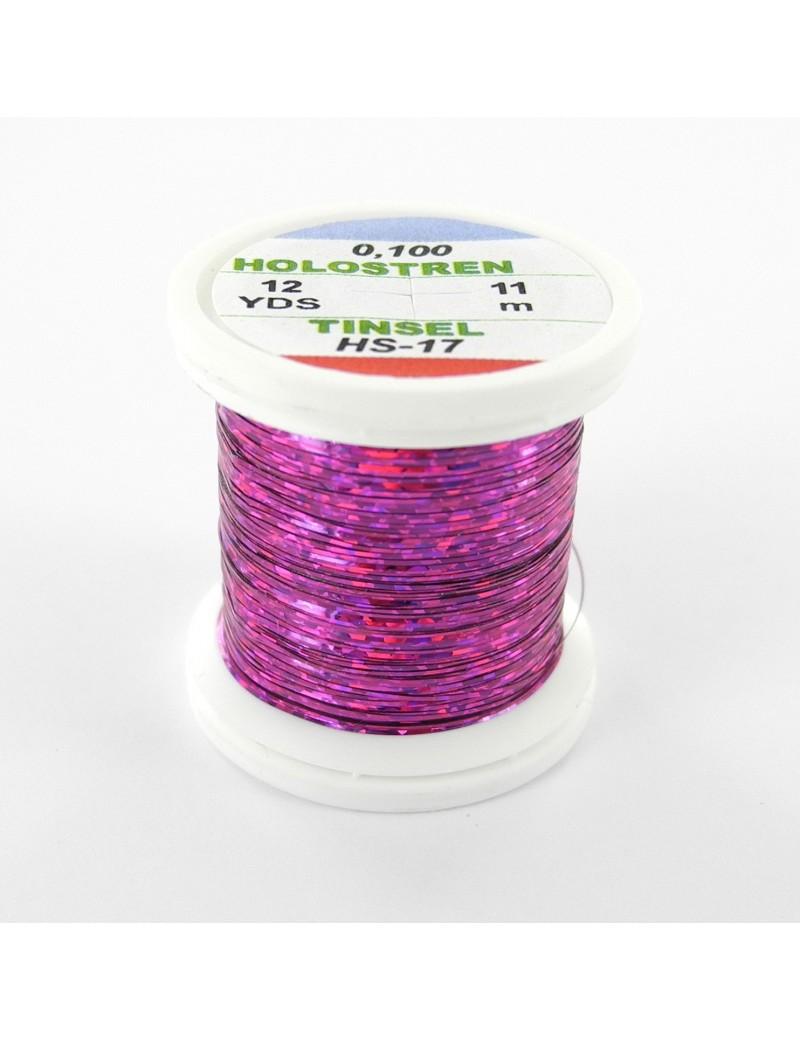 Tinsel Hologstren rose violet-17