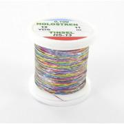 Tinsel Hologstren multicolor argent-13