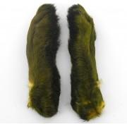 Pattes de lièvre Patagonie olive