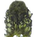 Cou de poule Chickabou whiting olivefoncé
