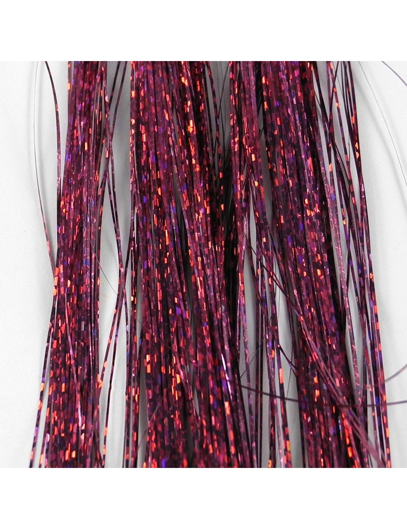 Holographic Hair violet