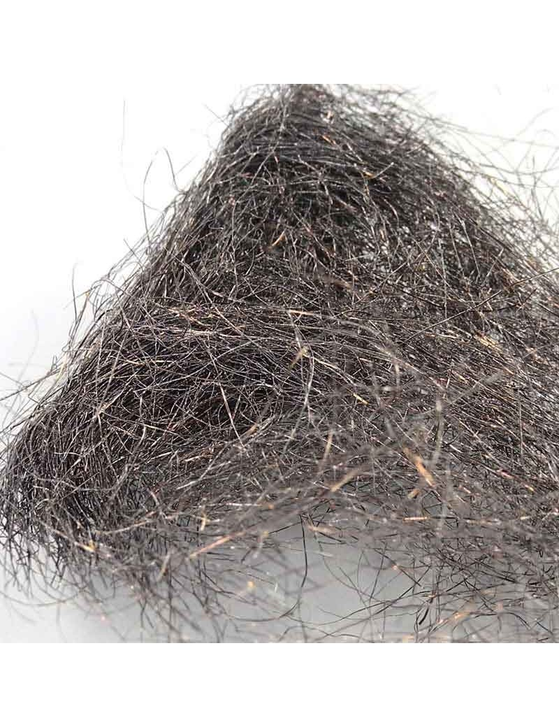 Fibres métal Brun gris