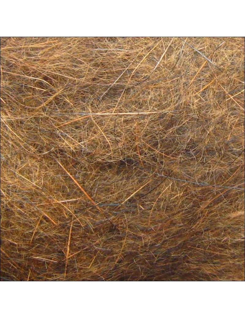 Dubbing de lièvre gris roux naturel-12