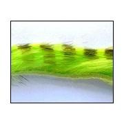 Bandelettes lapin zébrées chartreuse