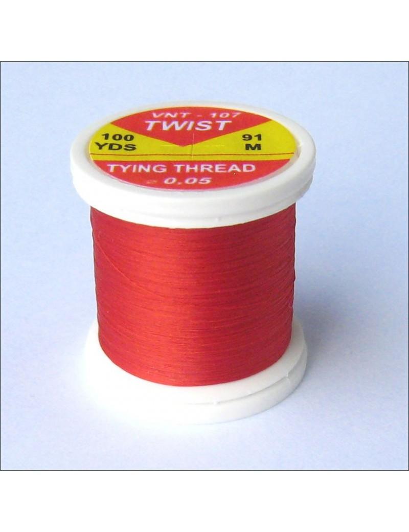 Fil de montage Twist Rouge-107