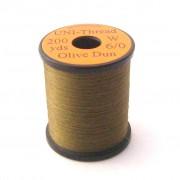 Fil UNI THREAD 6/0 Olive dun