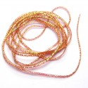 Ribbing Band Orange rose-110