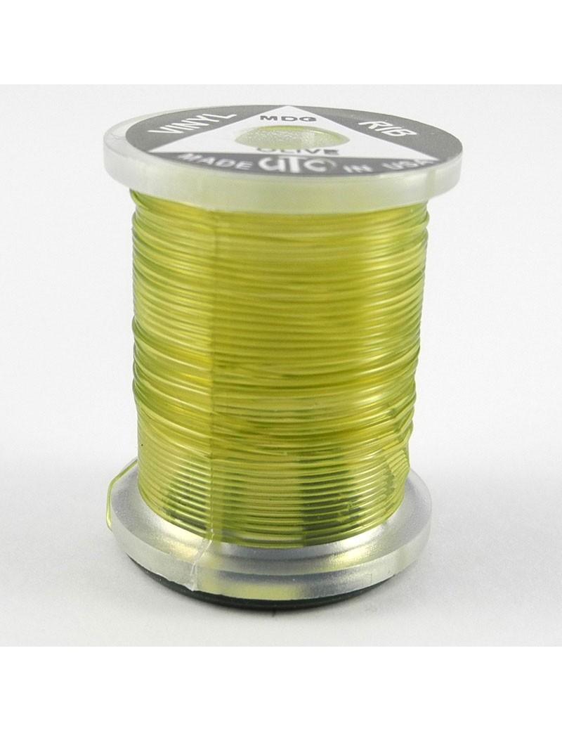 Vinyl rib Olive