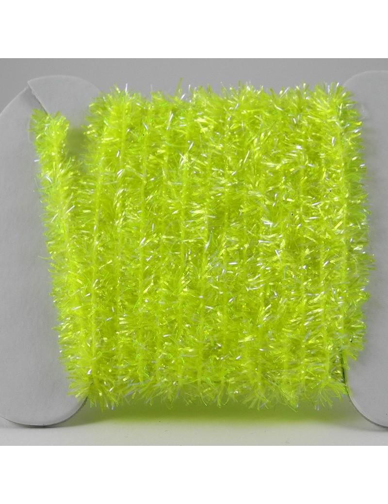 Chenille ICE jaune fluo
