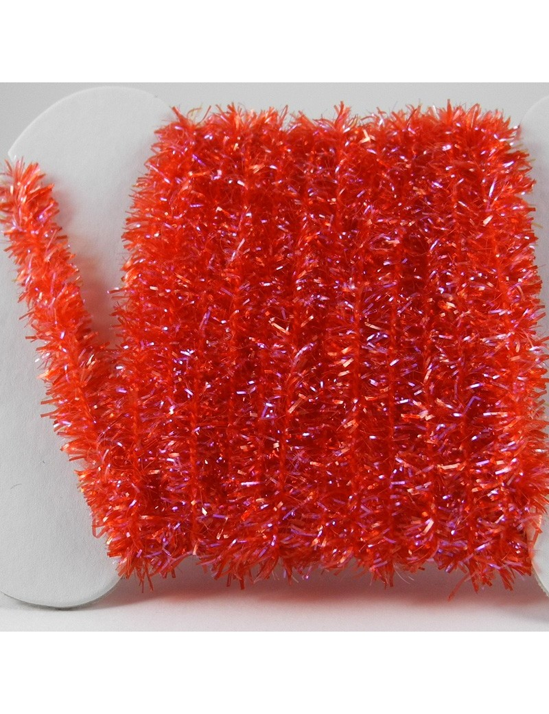 Chenille ICE rouge
