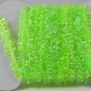 Chenille ICE vert fluo