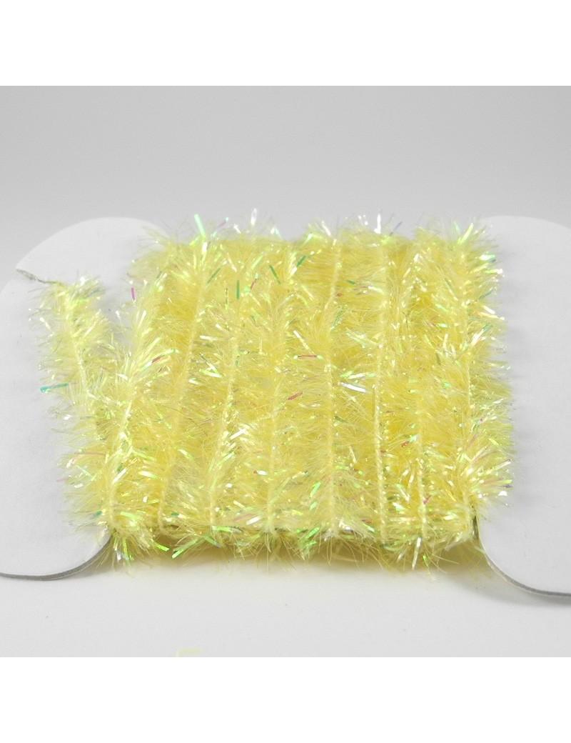 Chenille Krystal jaune clair-10