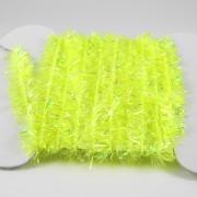 Chenille Krystal jaune fluo-02