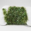Chenille Krystal olive foncé-21