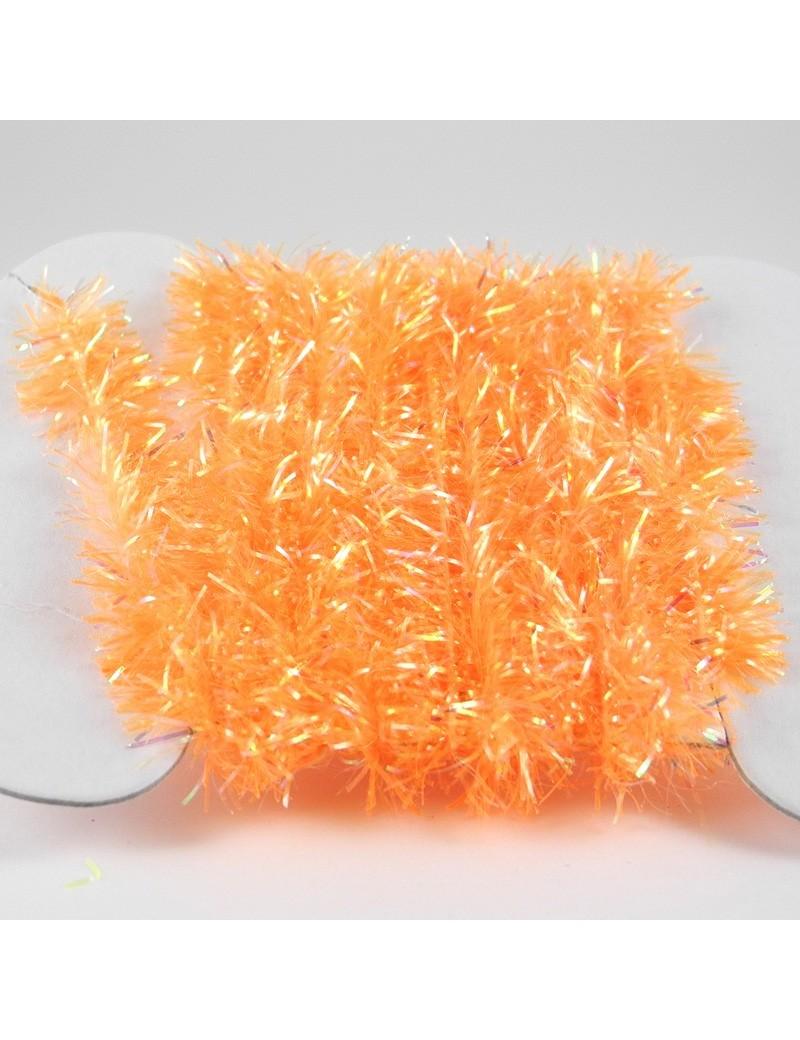 Chenille Krystal orange fluo-07