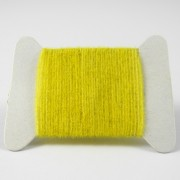 Micro chenille jaune olive