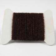 Micro chenille marron