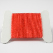 Micro chenille rouge