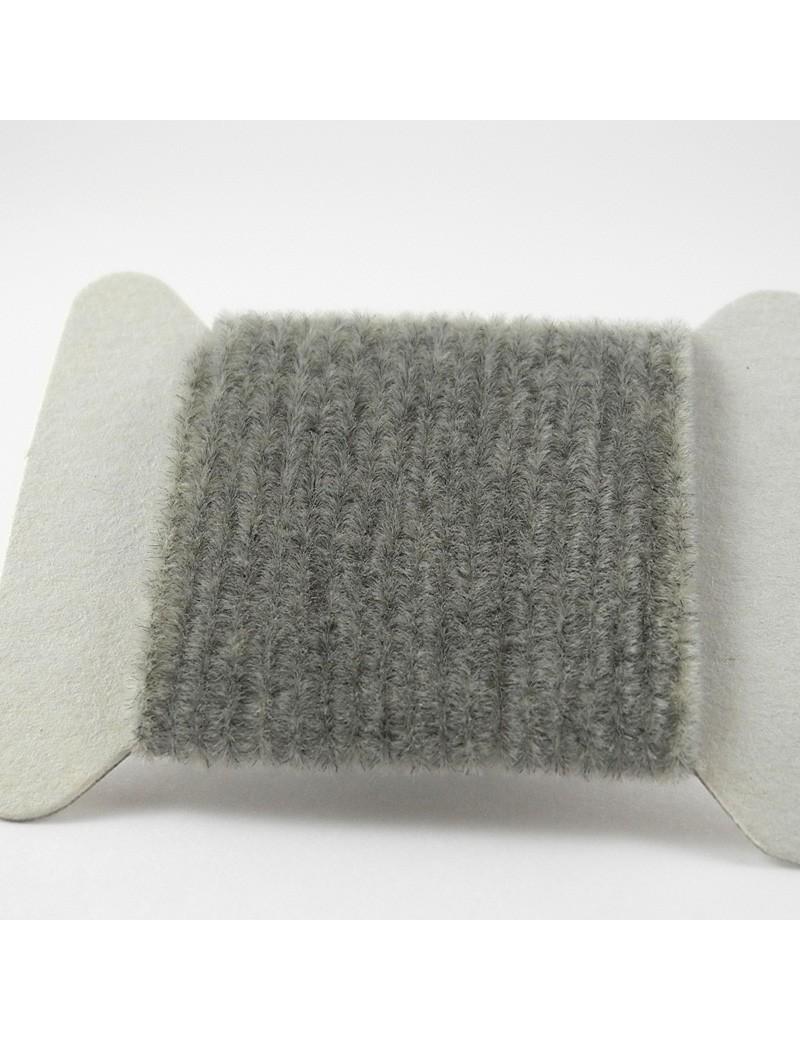 Chenille velours gris clair-04