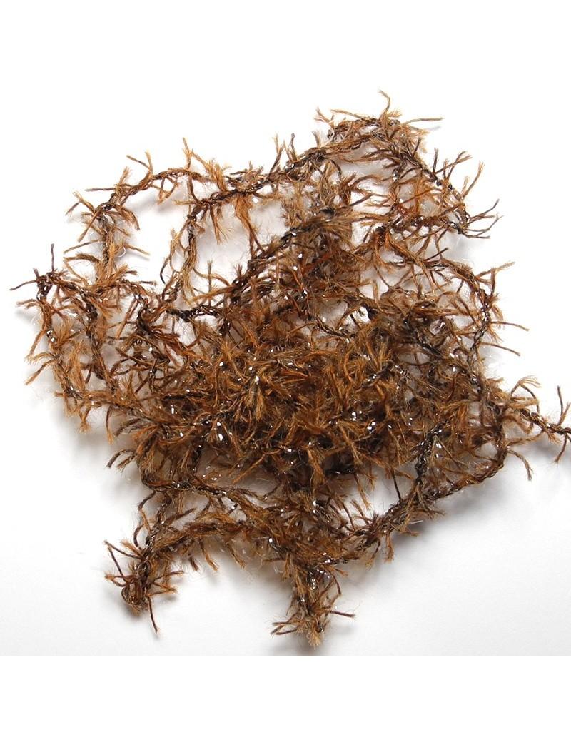 chenille woolly marron