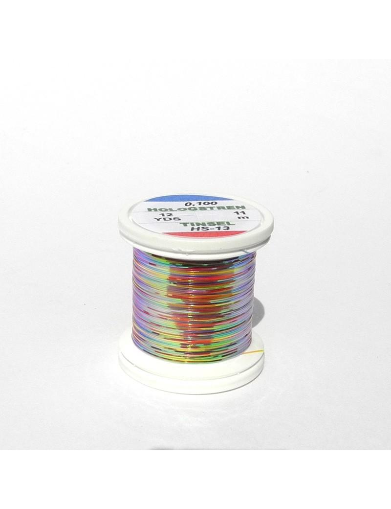 Tinsel Hologstren Multicolor Argent