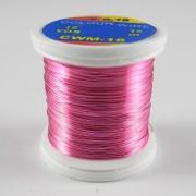 Fil de cuivre coloré rose-16
