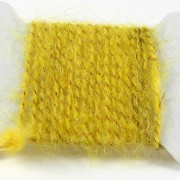 Dubbing brush jaune orangé