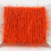 Dubbing brush orange feu