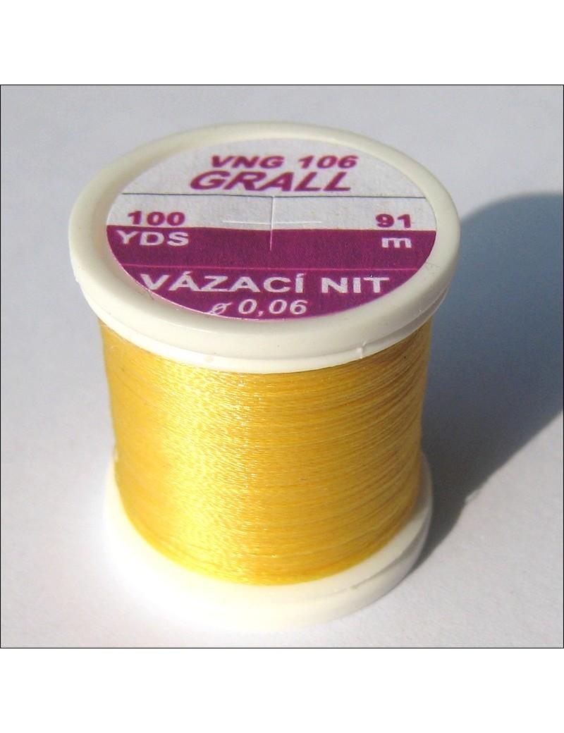 Fil de montage Grall jaune-106