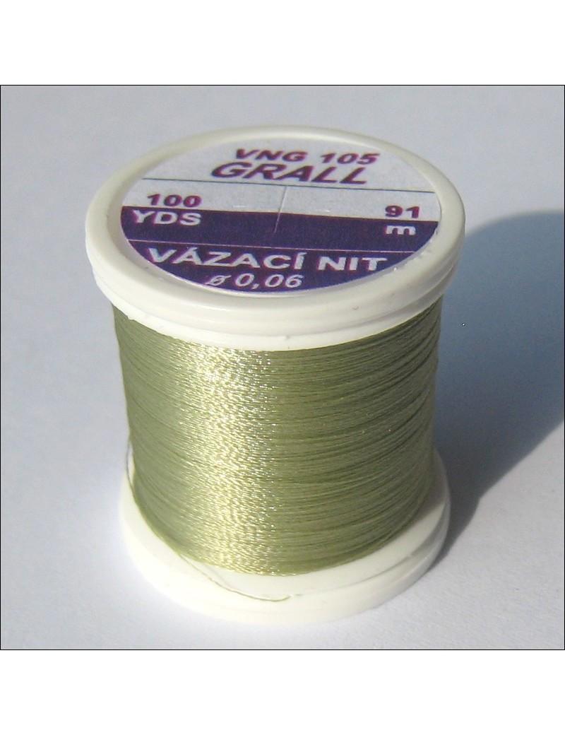 Fil de montage Grall olive clair-105