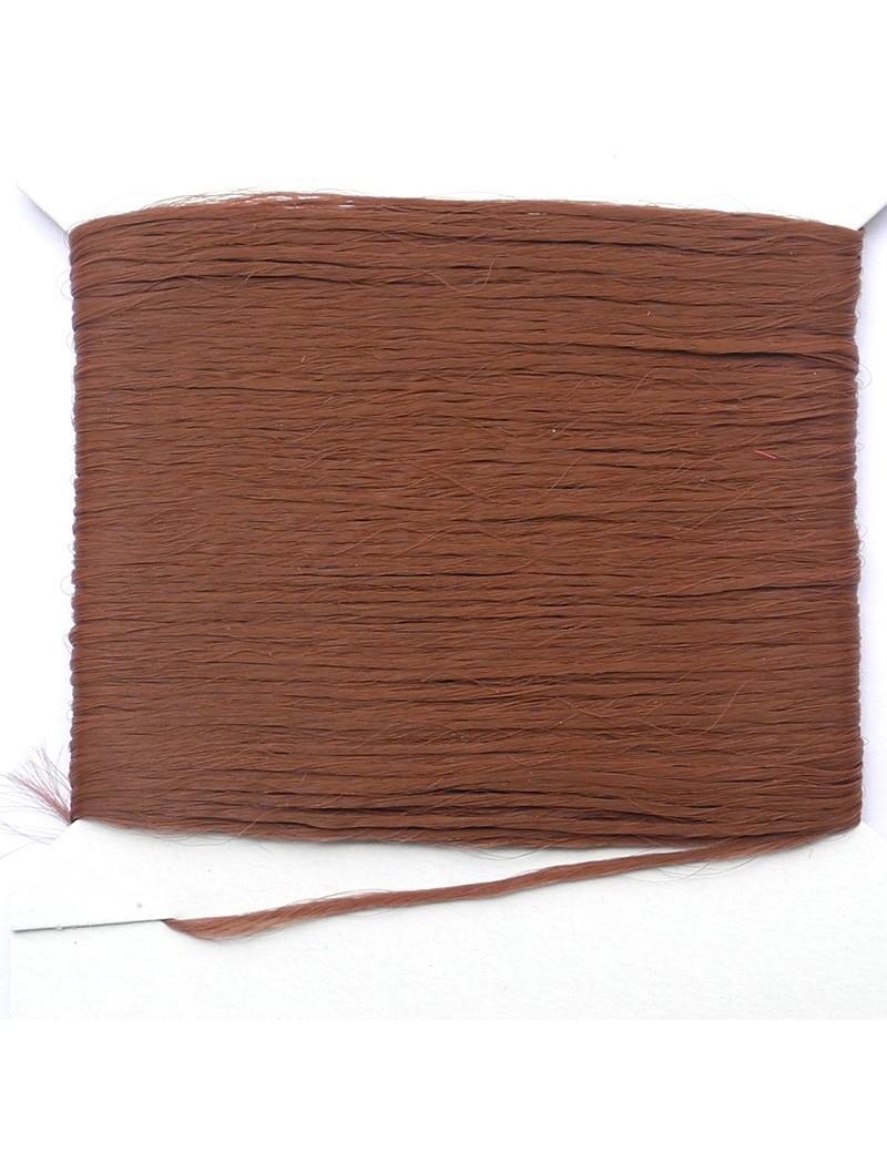 Polypropylène en mèche marron