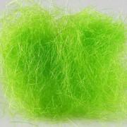 Gleamy dubbing vert fluo