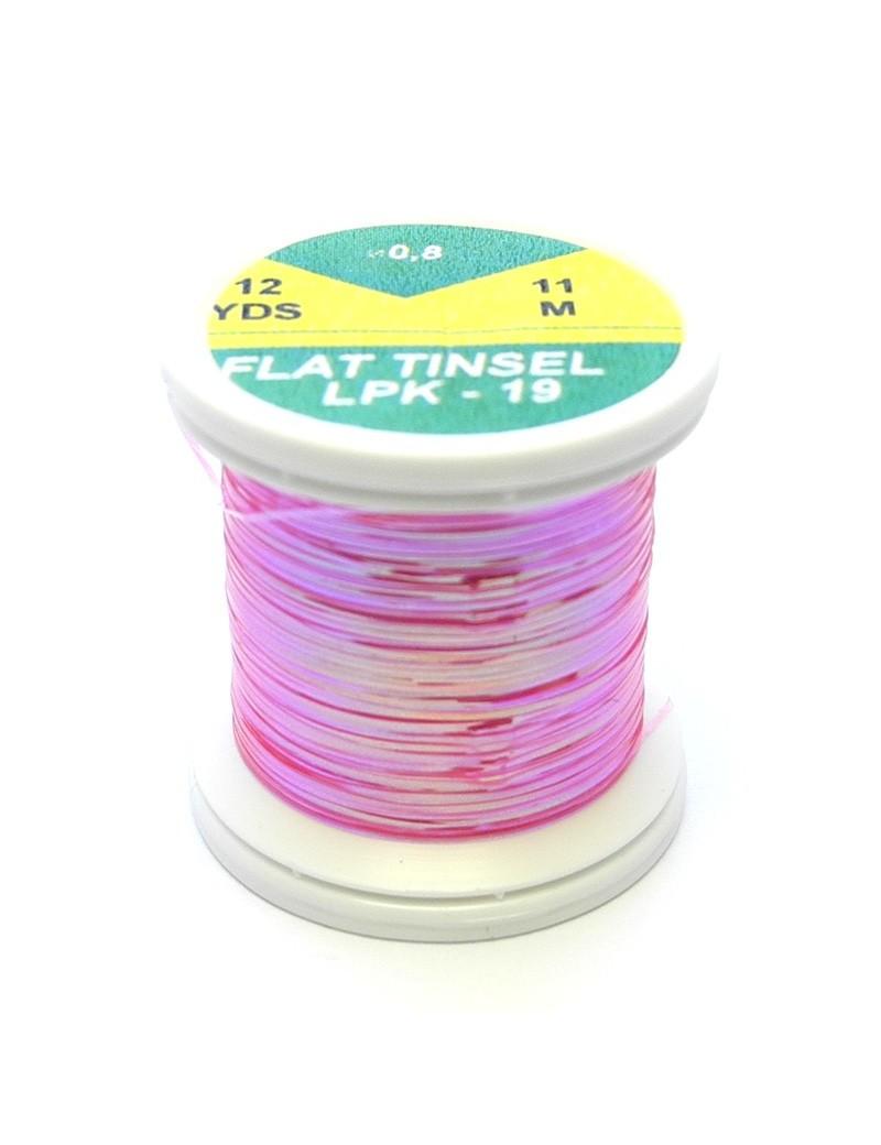 Tinsel plat rose irisé-19